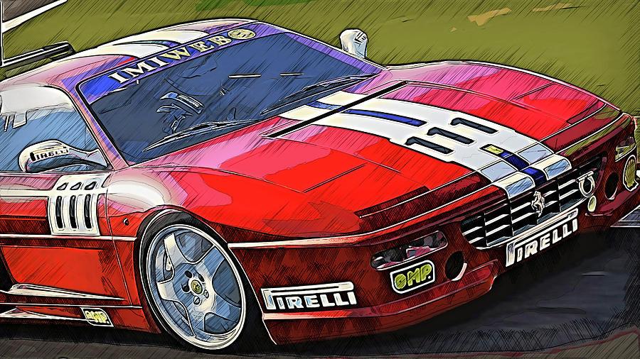 Ferrari F355 Challenge - 60 by Andrea Mazzocchetti