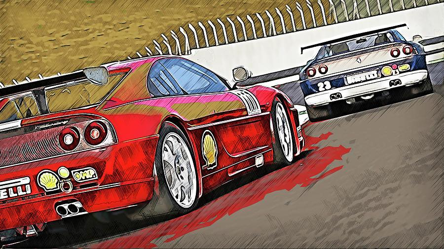 Ferrari F355 Challenge - 61 by Andrea Mazzocchetti