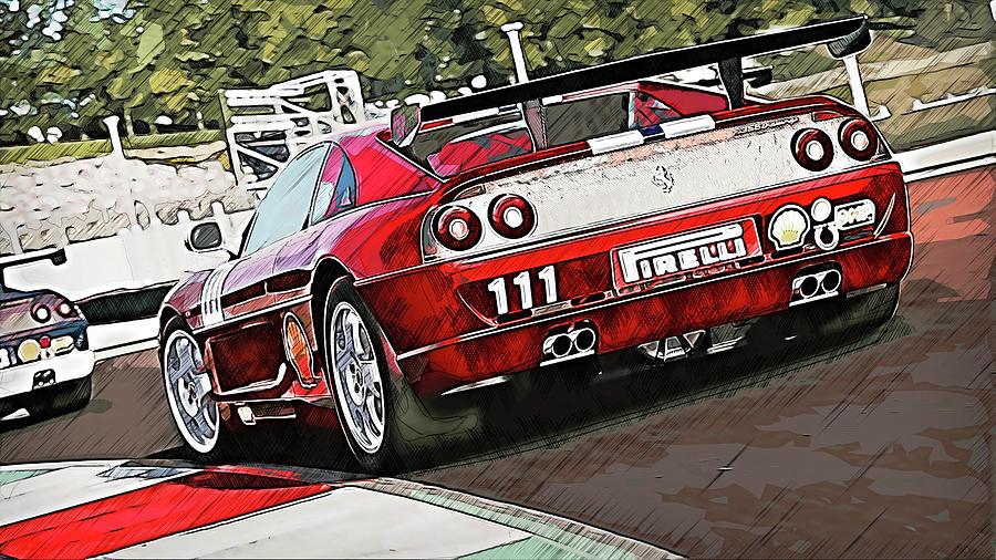Ferrari F355 Challenge - 62 by Andrea Mazzocchetti