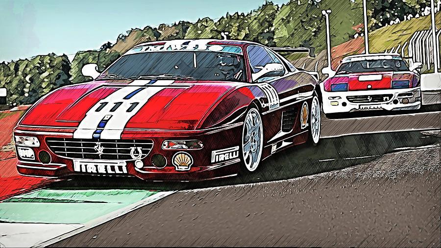 Ferrari F355 Challenge - 65 by Andrea Mazzocchetti