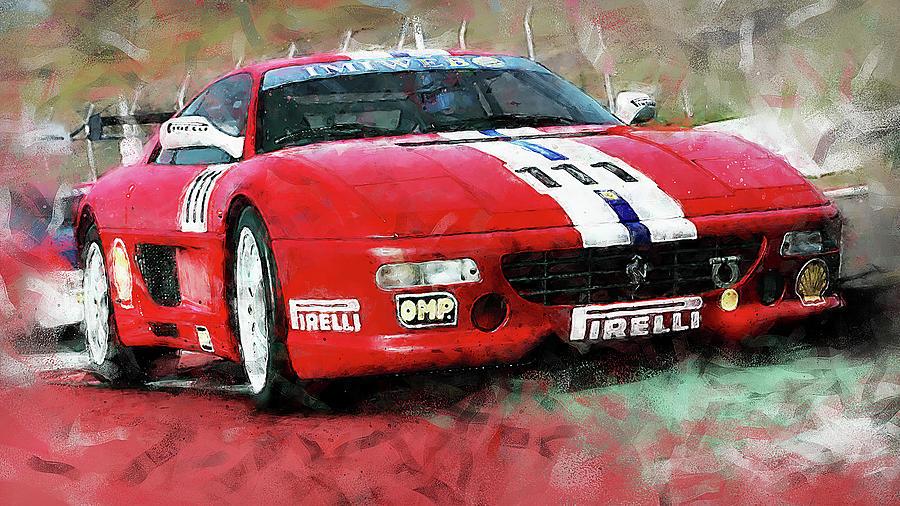 Ferrari F355 Challenge - 66 by Andrea Mazzocchetti