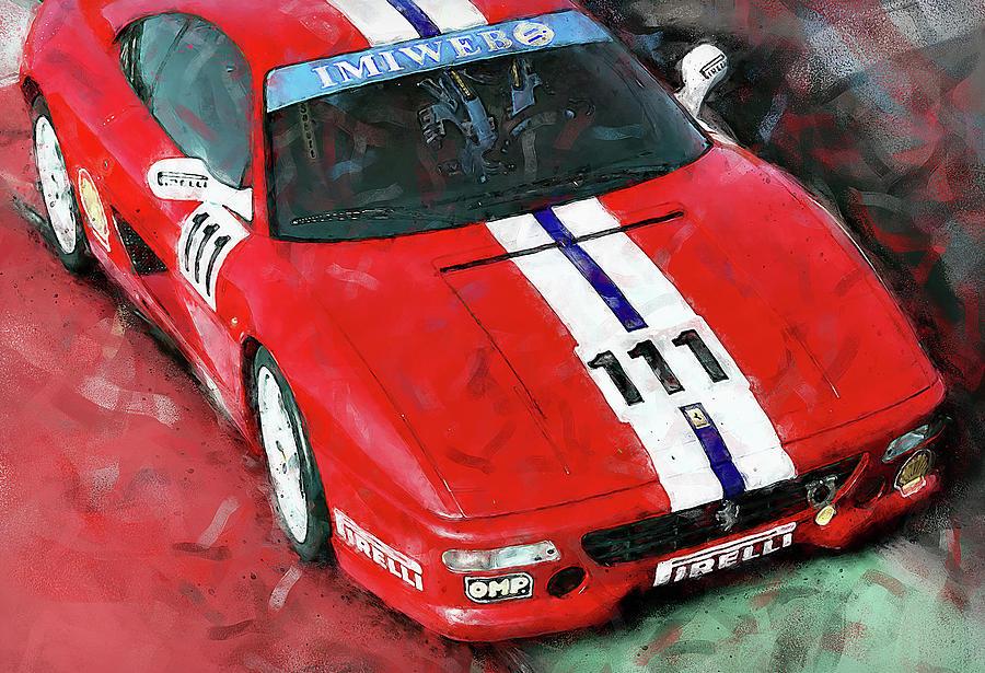 Ferrari F355 Challenge - 67 by Andrea Mazzocchetti