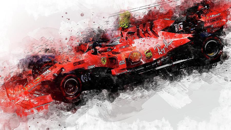 Ferrari Sf 90 - 33 by Andrea Mazzocchetti