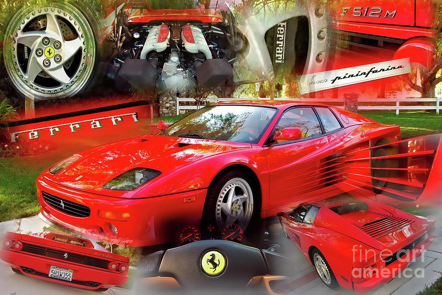 Ferrari Testarossa F512M by Charles Abrams