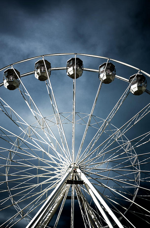 Ferris  Big wheel, Bournemouth.UK by Maggie McCall