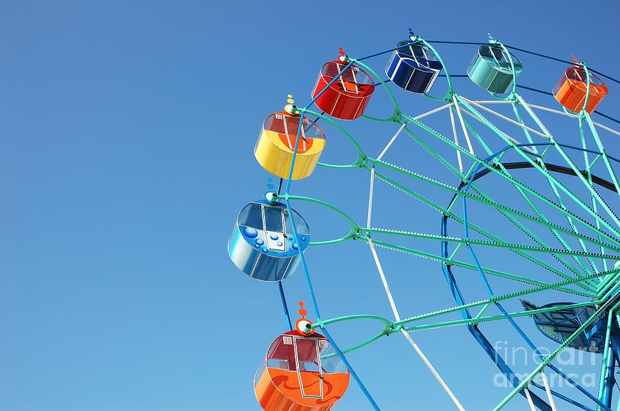 Romance Photograph - Ferris In Spring Park by Alexander A. Kataytsev