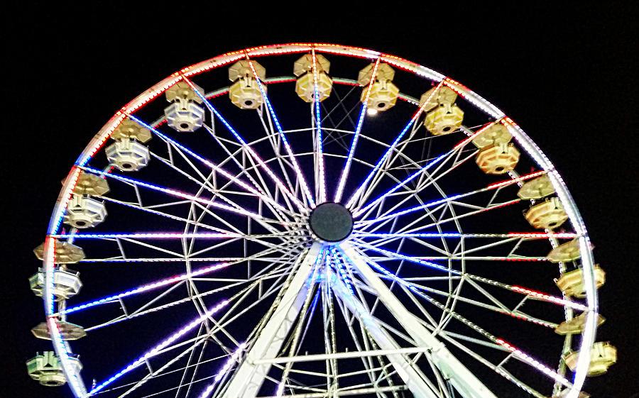 Ferris Wheel Delight Photograph