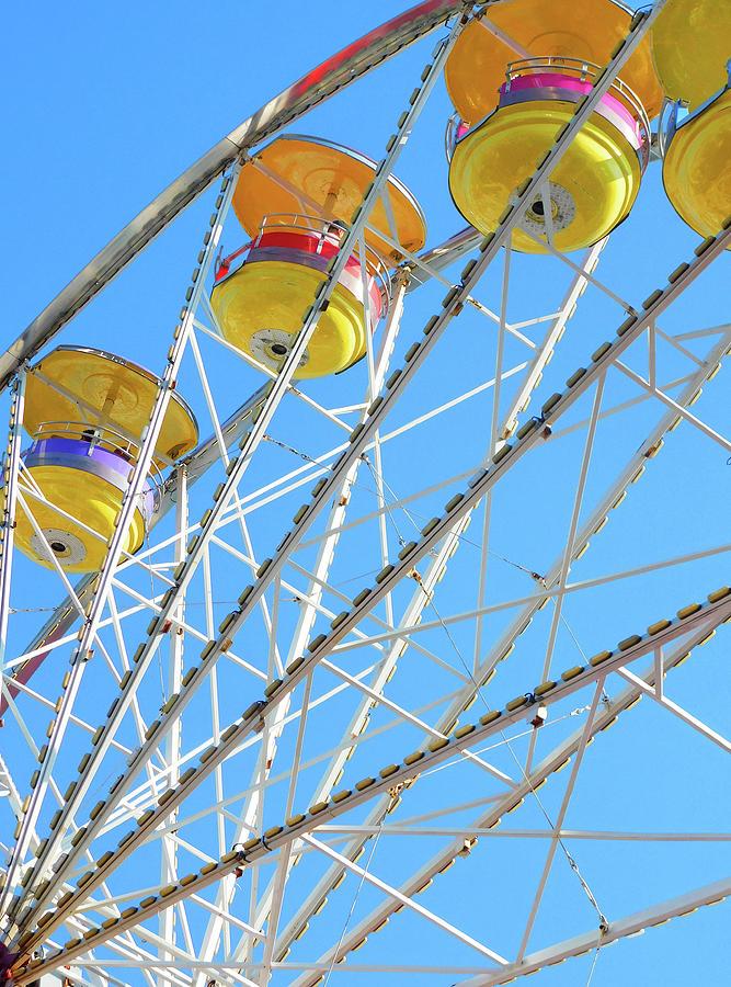 Ferris Wheel Montgomery County Md Fair Photograph