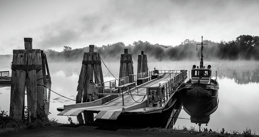 Ferry at Rocky Hill Connecticut by Kyle Lee
