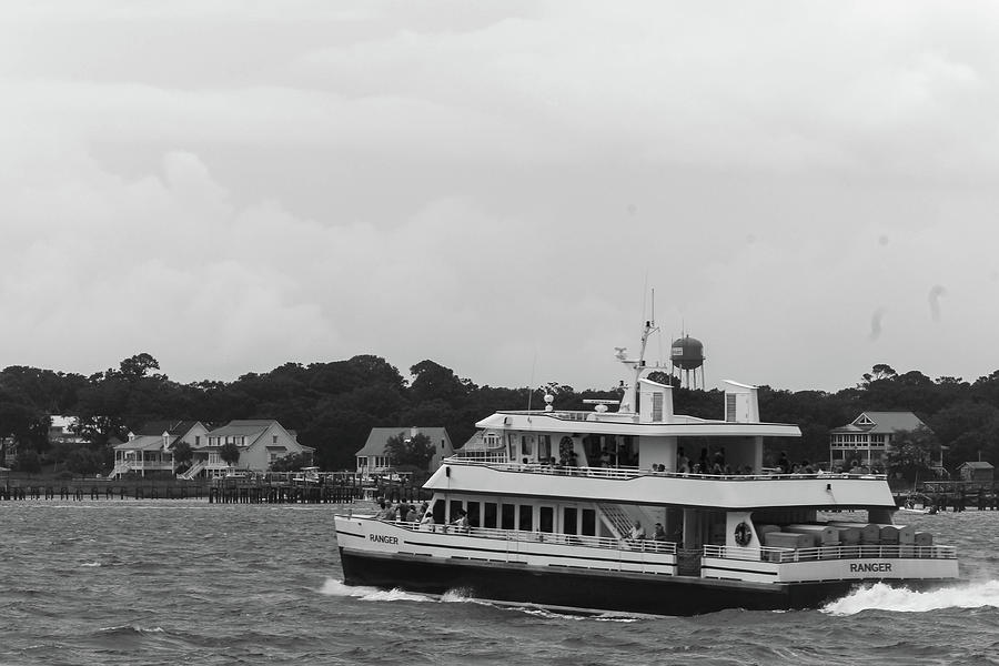 Ferry To Bald Head Island Photograph
