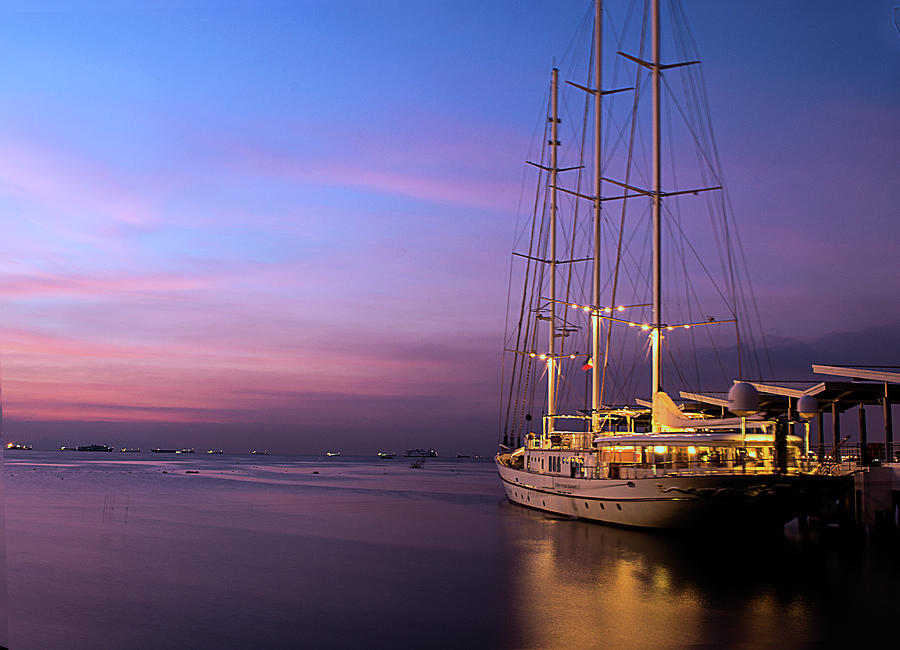 Ferry,pasay City, Manila, Philippines Photograph by Danny Briones  Photography