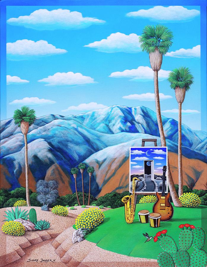 Festival Blue by Snake Jagger