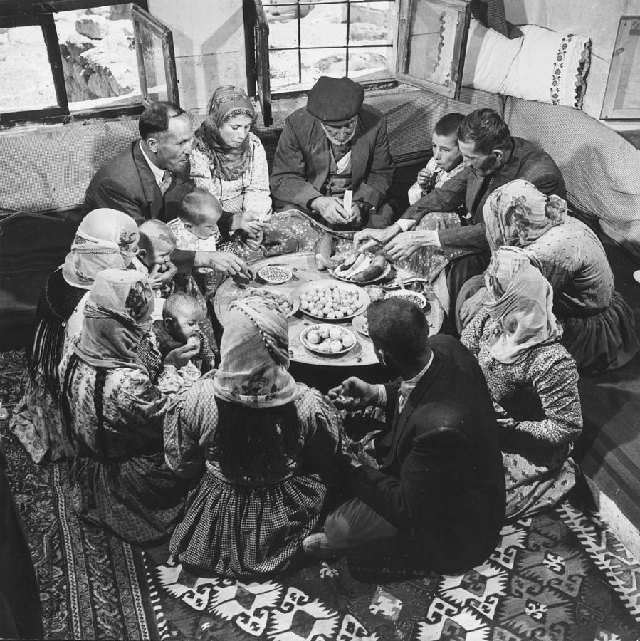 Festival Meal Photograph by George Pickow