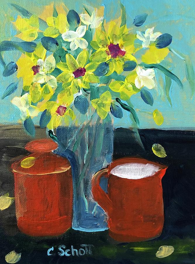Festive Morning Table by Christina Schott