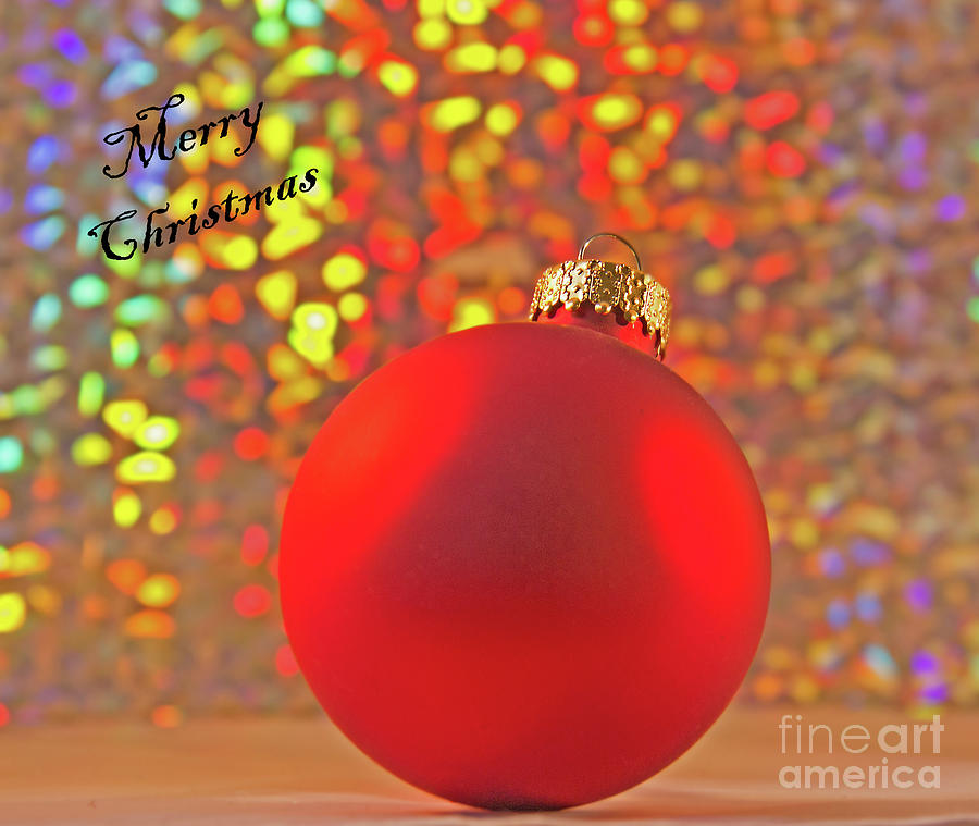 Festive Ornament by Michelle Tinger