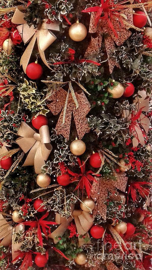 Festive Tree 2 by Joan-Violet Stretch
