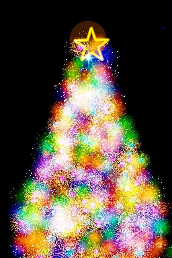 Fiber Optic Christmas Trees.Fiber Optic Christmas Tree