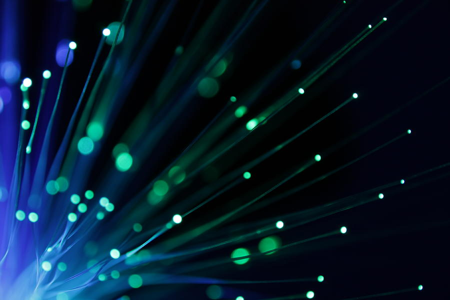 Fiber Optics - Xlarg Photograph by Pictafolio