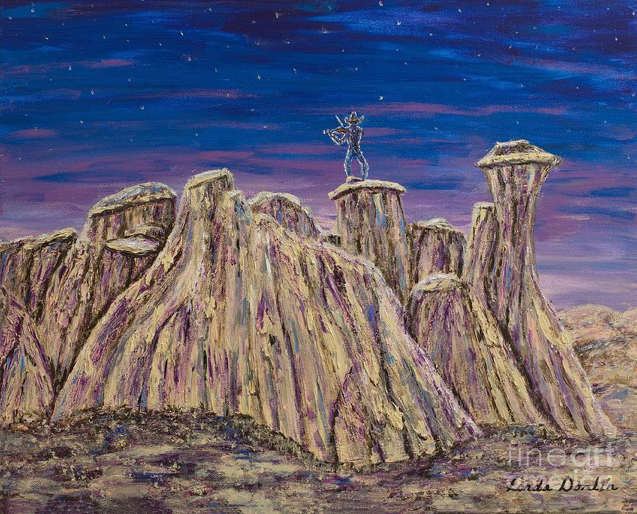 Fiddler on the Butte by Linda Donlin