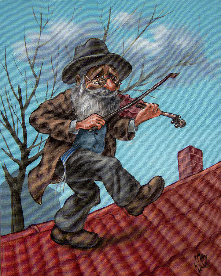 Fiddler on the Roof. op.#2853 by Victor Molev