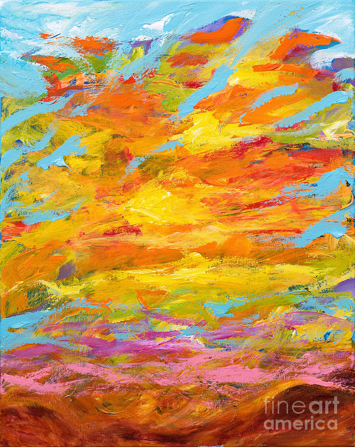 Field of Clouds by Art by Danielle
