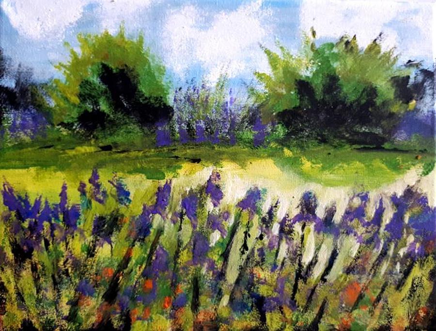 Field of Irises by Nikki Dalton