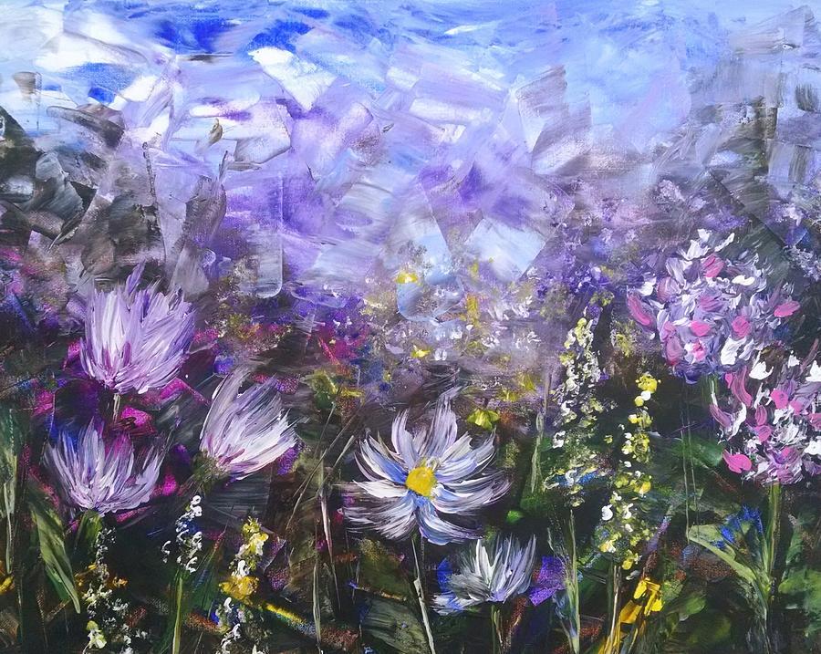 Field of Wildflowers 2 by Helian Osher