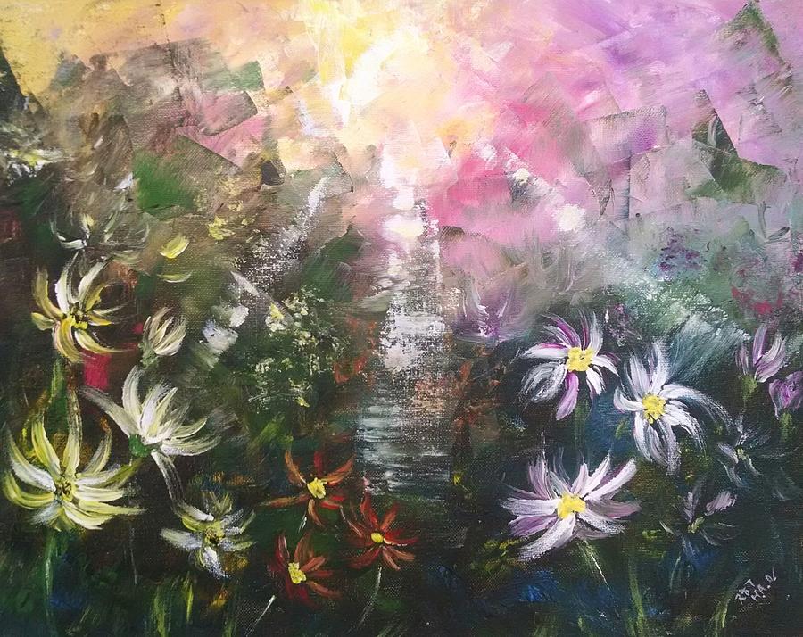 Field of Wildflowers 4 by Helian Osher