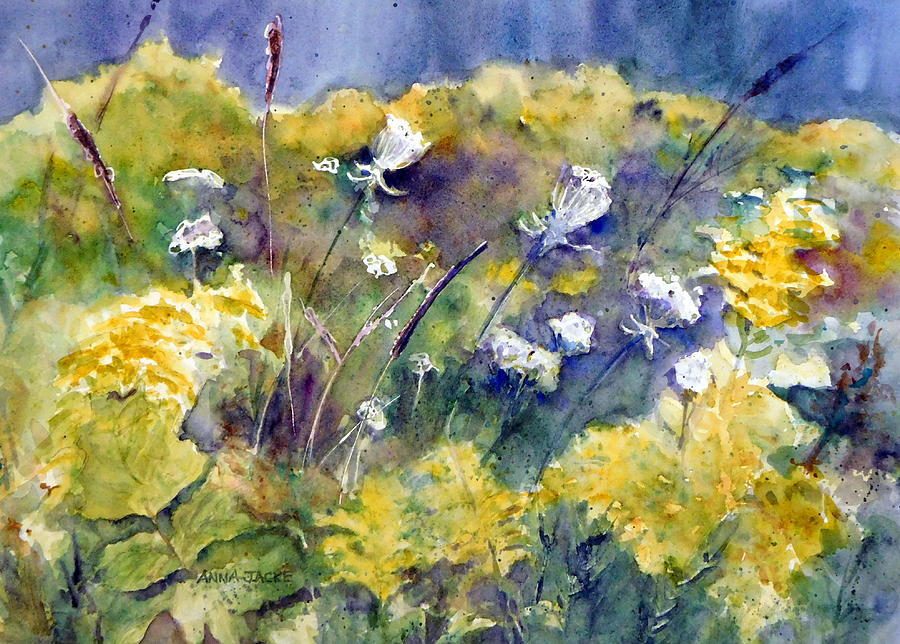 Fields of White and Gold by Anna Jacke