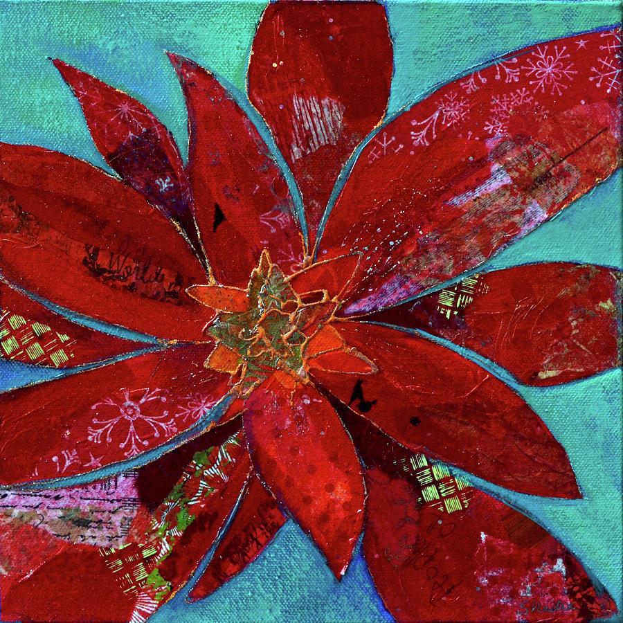Fiery Bromeliad II Painting