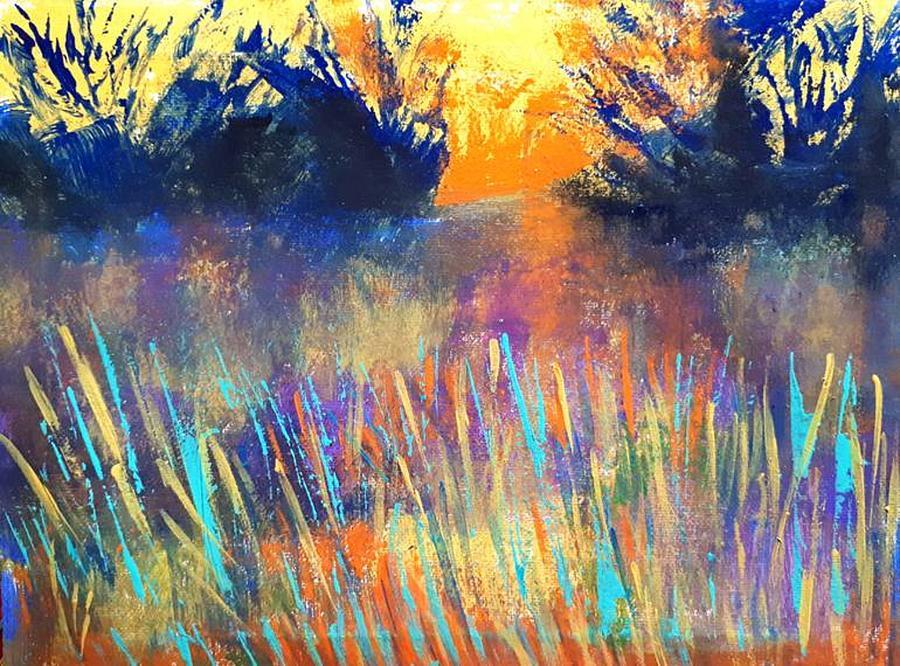 Fiery Marsh by Nikki Dalton