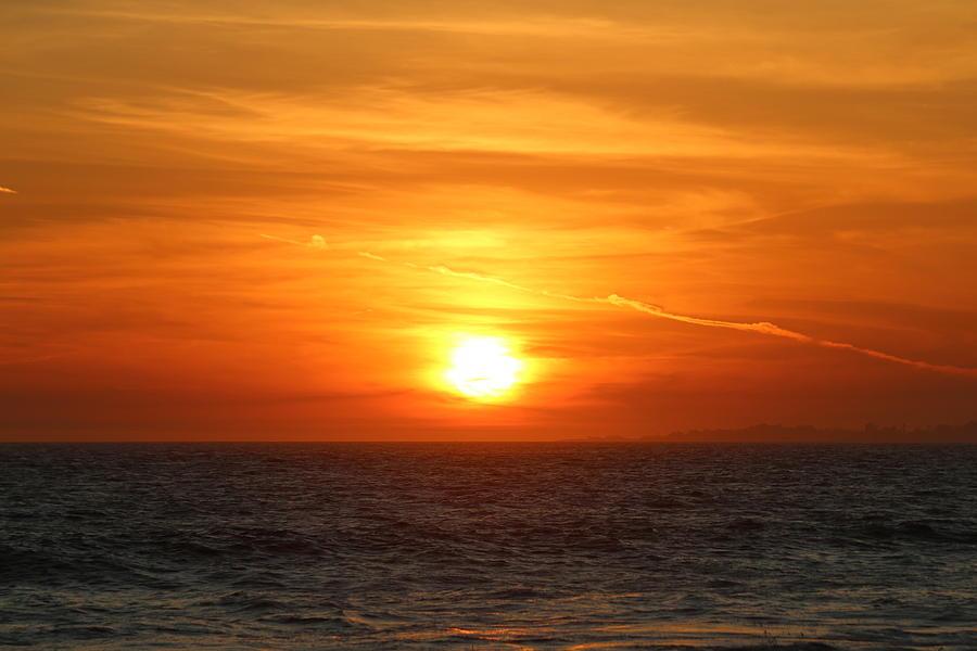 Fiery Sunset  by Christy Pooschke