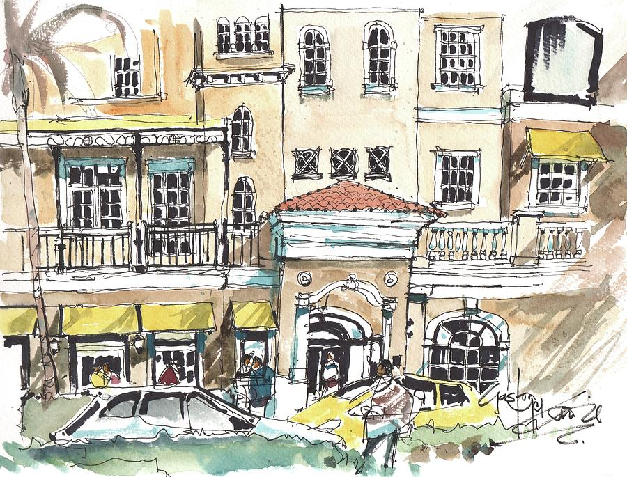 Fifth Avenue Naples by Gaston McKenzie