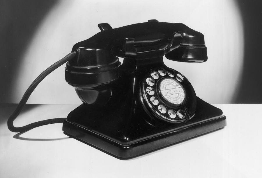 Fifties Telephone Photograph by Fox Photos
