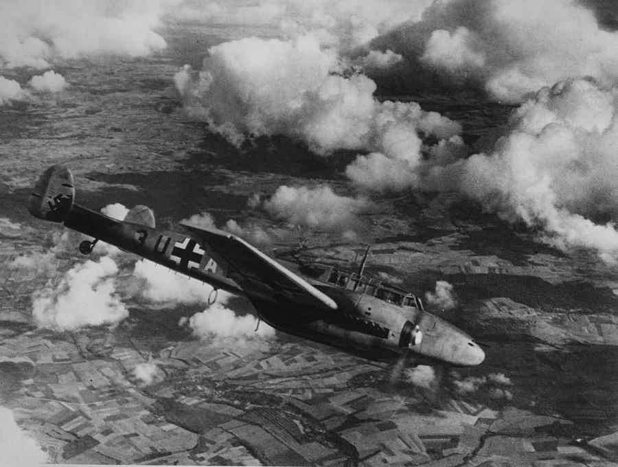 Fighter Plane Photograph by Hulton Archive