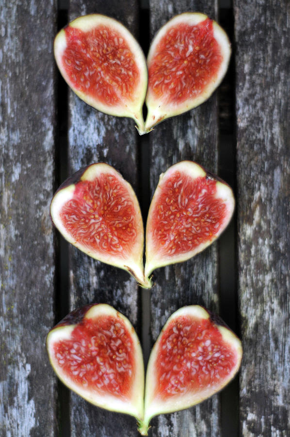 Figs On Wood Photograph by Tristangeorge