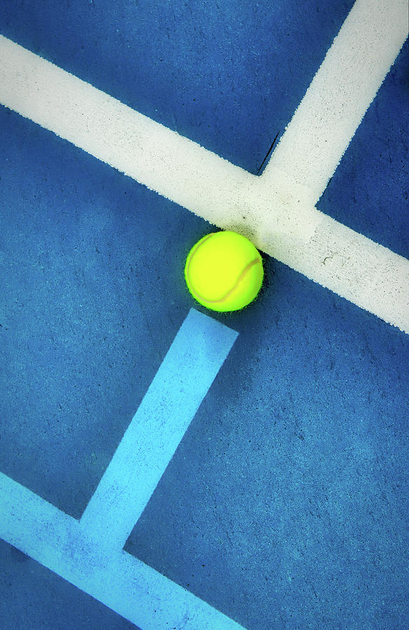 Filling The Tennis Court Gap by Gary Slawsky