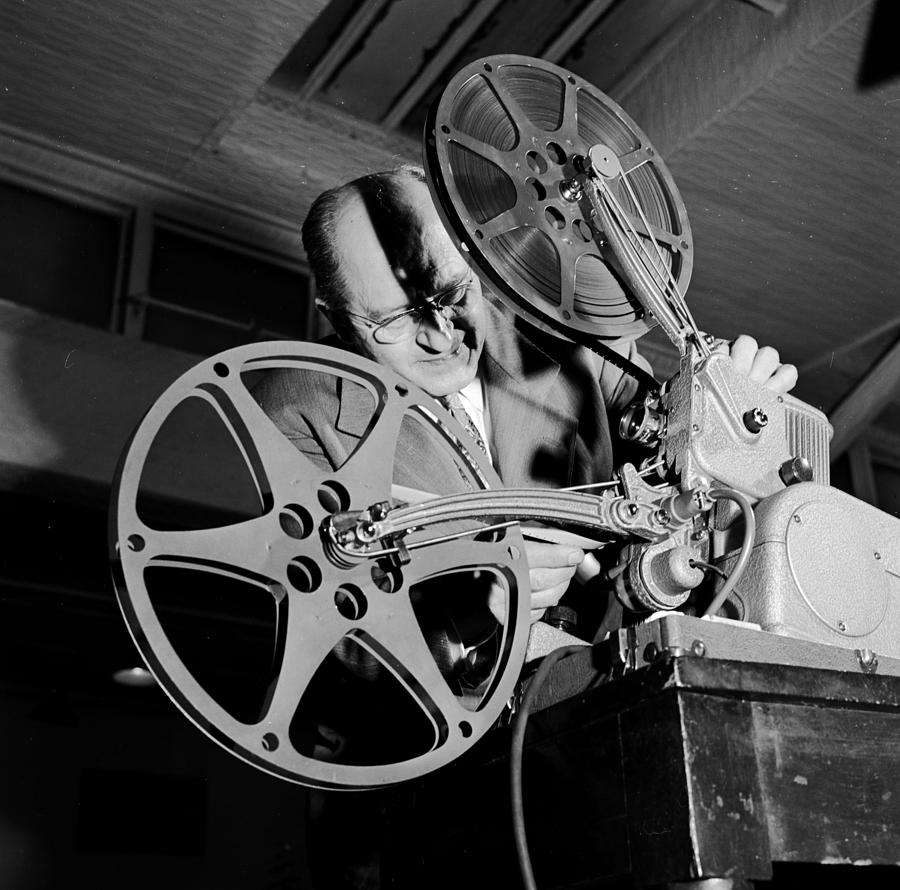 Film Projector Photograph by Orlando