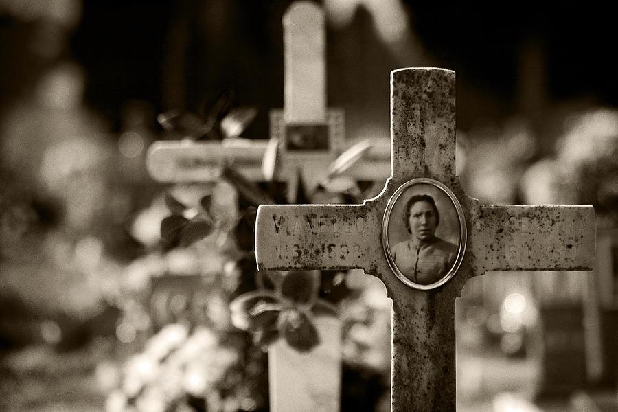 Cemetery Photograph - Final Destination by Stefan Nielsen