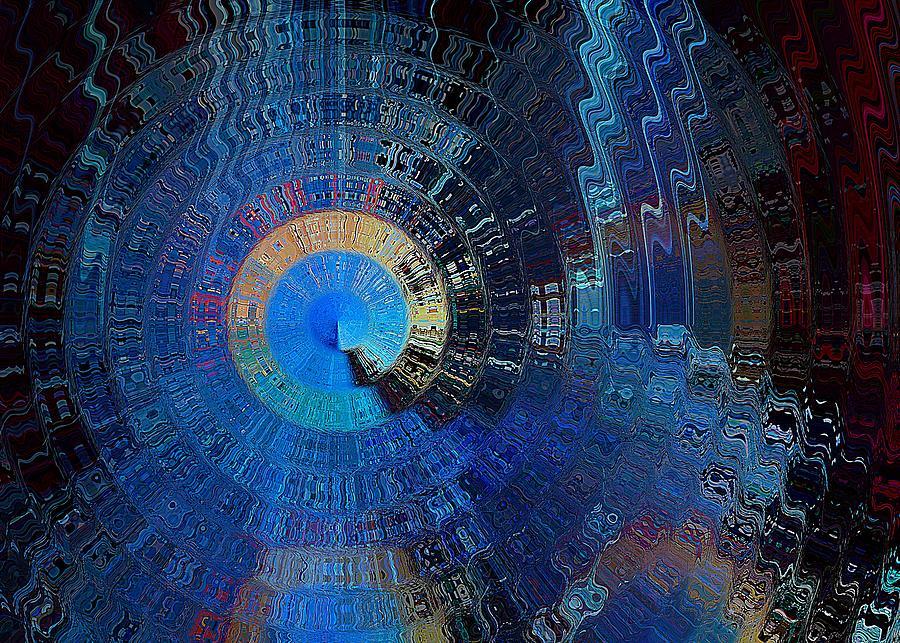 Space Digital Art - Final Gateway by David Manlove