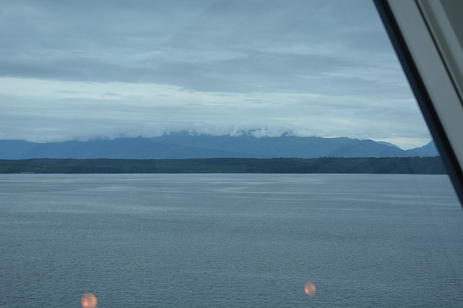 Alaska Photograph - Final View From The Liner Before We Dock In Vancover, Canada by Joe Smiga
