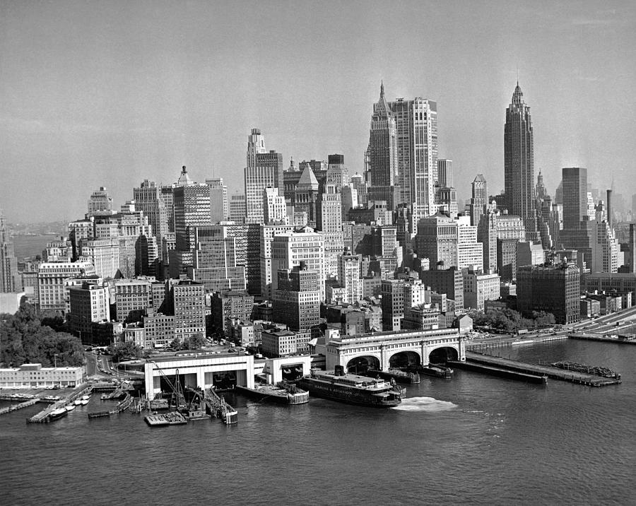 Financial District Cityscape Photograph by Fpg