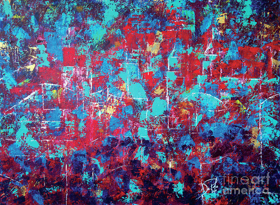 Cleveland Ohio Painting - Find Cleveland by JoAnn DePolo