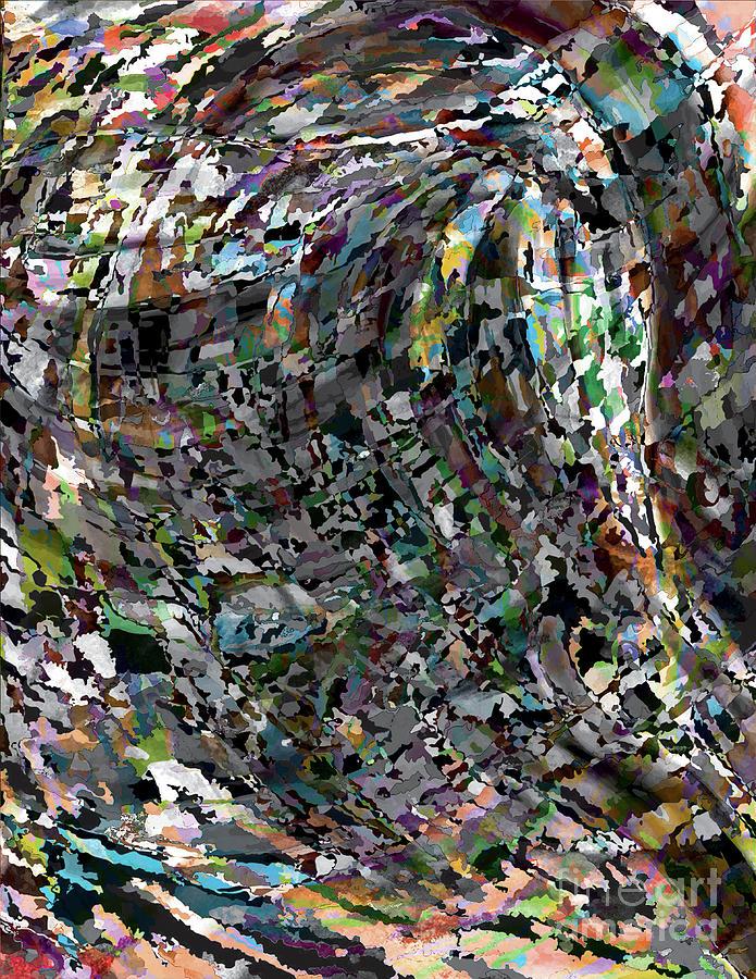 Digital Digital Art - Finding Inspiration by Poster Book