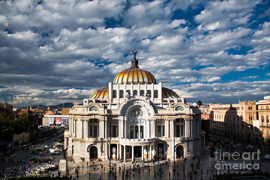Df Photograph - Fine Arts Museum, Mexico-city, Mexico by Elhielo
