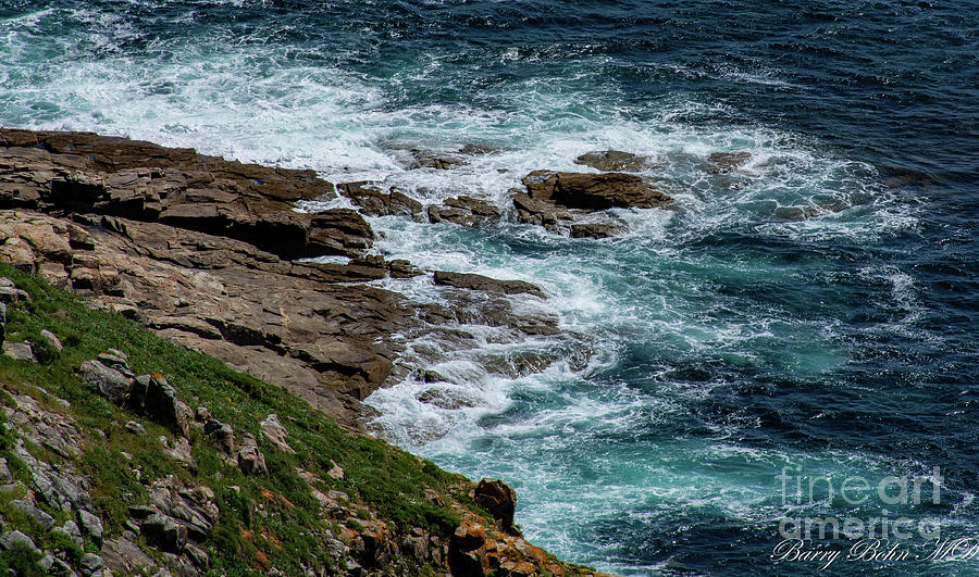 Finisterre shore by Barry Bohn