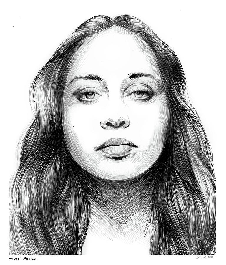 Fiona Apple Drawing