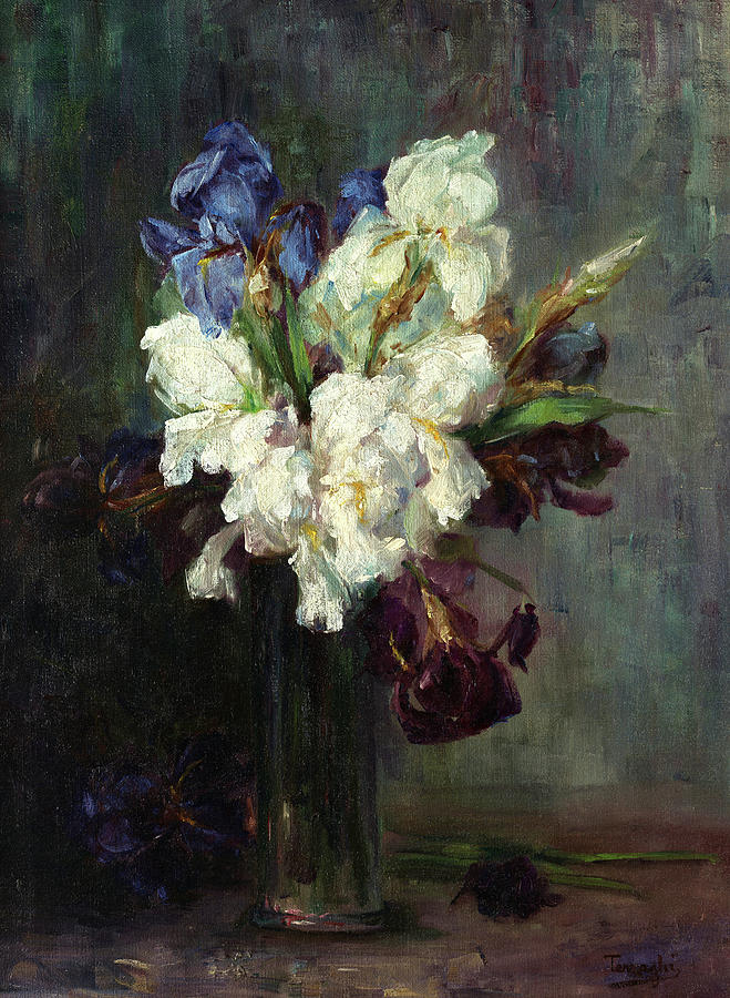 Fiori Painting - Fiori, 1915 by Ottilia Terzaghi