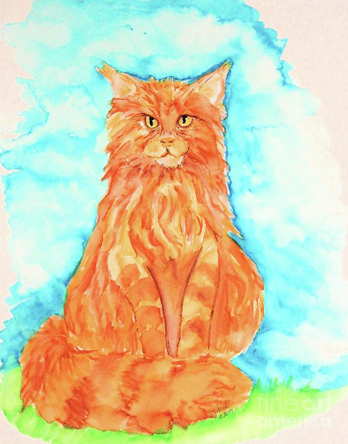 Fire Cat by Alorah Tout