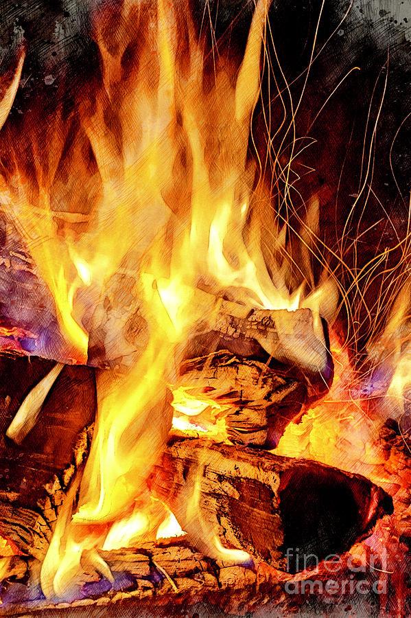 Fire by David Smith